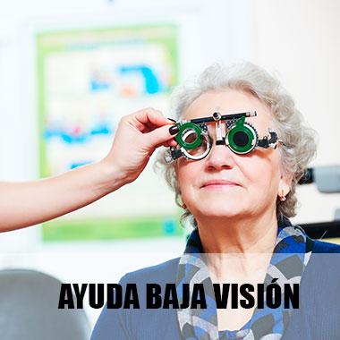 Ayuda baja visión